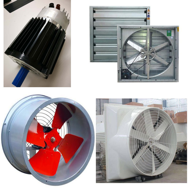Controller Integrated Fan Motor Application