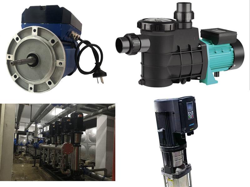 Controller Integrated Pump Motor Application