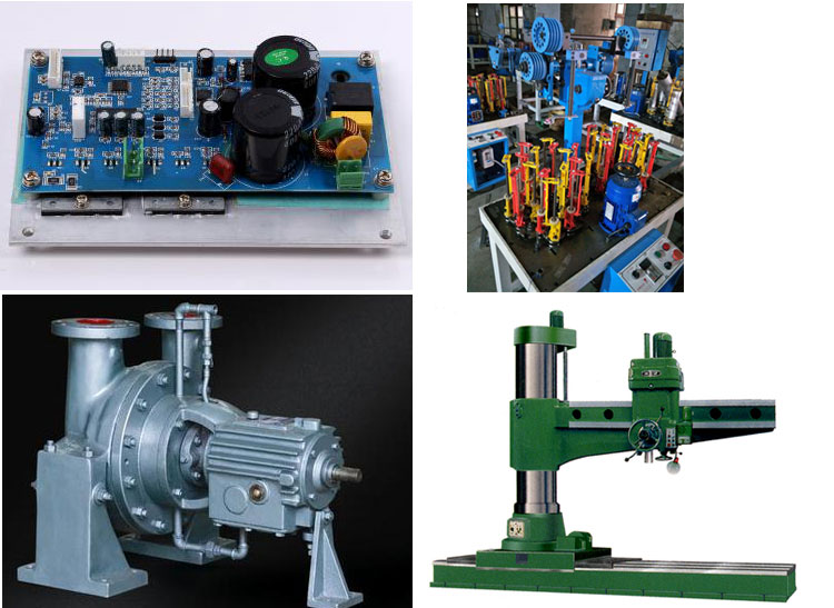 Drilling Machine Motor Driver Application