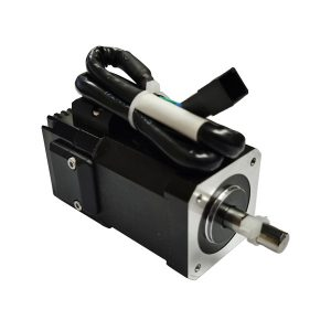 How to adjust the speed of the servo motor?