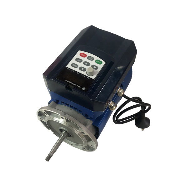 Permanent magnet brushless motor with controller